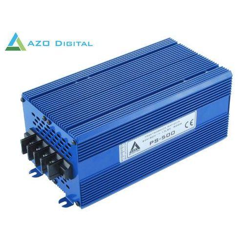 Przetwornica napięcia 30÷80 VDC / 13.8 VDC PS-500-12V 500W IZOLACJA GALWANICZNA