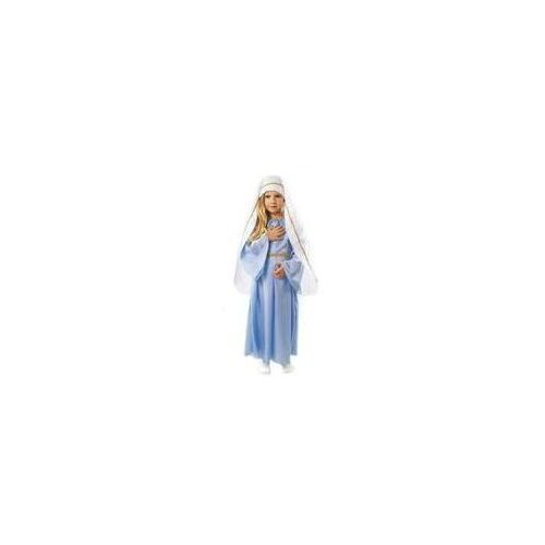 Kostium Maryja rozmiary: od 98 do 140 cm - XS, S, M, L - M - 122/128 cm (5908260217662)