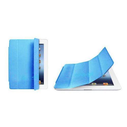 Smart cover etui/stojak do ipad 2 3 4 - błękitny od producenta 4kom.pl
