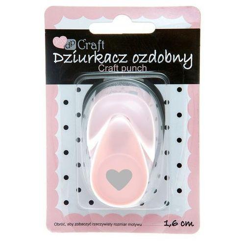 Dalprint Dziurkacz ozdobny 1,6 cm serce jcdz-105-023