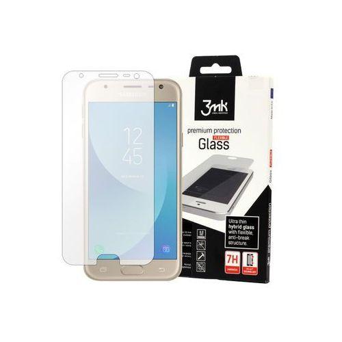 Samsung Galaxy J3 (2017) SM-J330 - szkło hartowane 3MK Flexible Glass, FOSM5423MFG000000