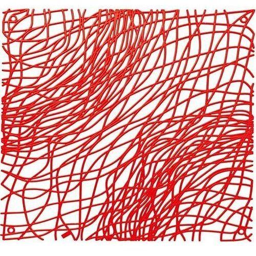 Koziol Panel dekoracyjny silk czerwony