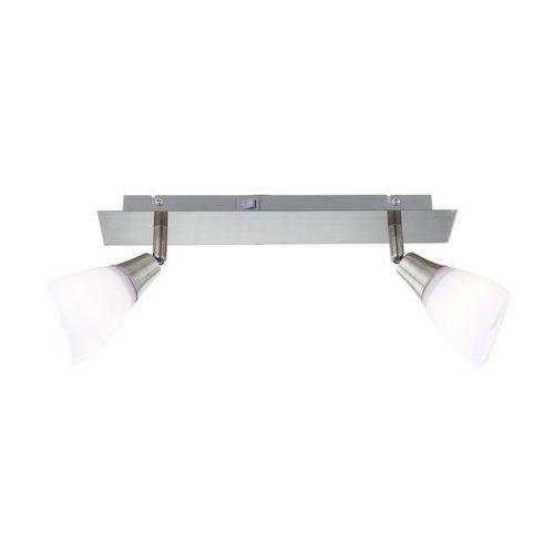Globo frank reflektor mosiądz, stal nierdzewna, 2-punktowe - nowoczesny/design/klasyczny - obszar wewnętrzny - frank - czas dostawy: od 2-3 tygodni marki Globo lighting