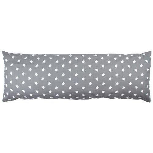 4Home Poszewka na poduszkę relaksacyjną Mąż zastępczy Stars szary, 50 x 150 cm