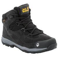 Jack wolfskin Buty trekkingowe dla dzieci mtn attack 3 lt texapore mid k phantom / grey - 34 (4060477351469)