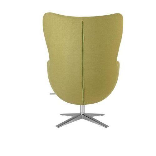 D2.design Fotel jajo inspirowany egg soft wełna - oliwkowy