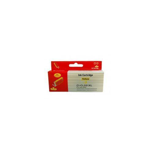 Tusz zamiennik Canon CLI-551XL (6446B001) Żółty - 13 ml, 1300 str.