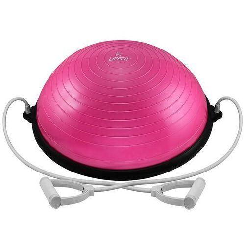 Lifefit urządzenie do ćwiczeń balance ball 58 cm różowy