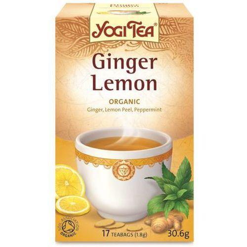Herbata Imbir-Cytryna BIO (Yogi Tea) 17 saszetek po 1,8g