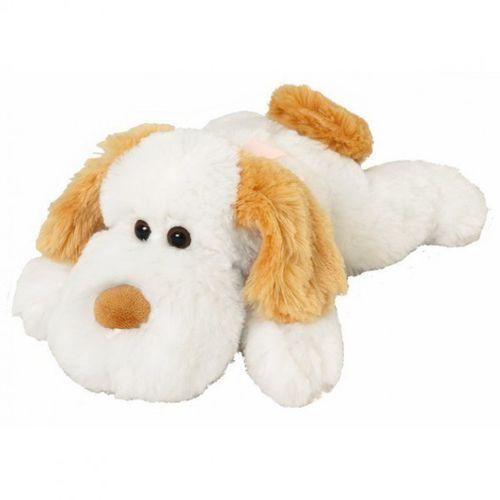 Maskotka pies Ravel biały 28 cm 12429 -. DARMOWA DOSTAWA DO KIOSKU RUCHU OD 24,99ZŁ