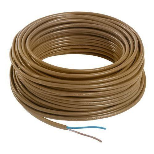 Kabel zasilający h03vvh2f 2 x 0,75 mm2 25 m złoty marki Nexans brings energy to life