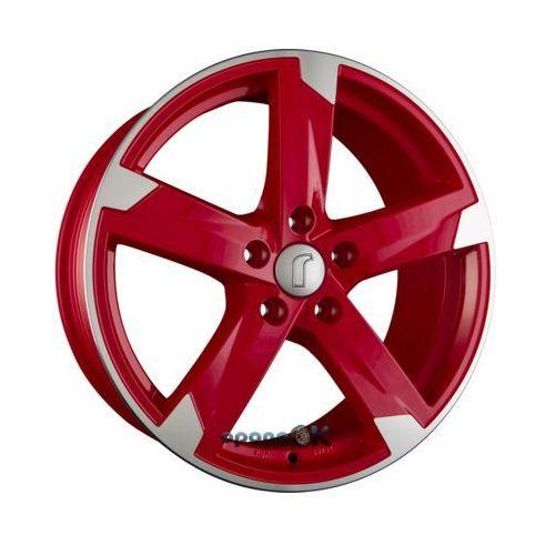 Rondell 01rz racing-rot poliert einteilig 7.50 x 17 et 48