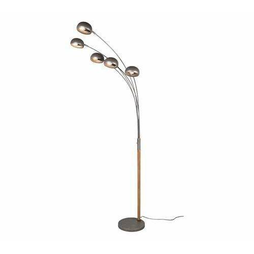 rl dito r46155067 lampa stojąca podłogowa 5x10w e14 niklowa marki Trio