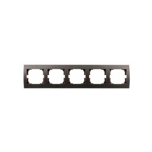 Kanlux logi 02-1500-041 gr ramka pięciokrotna pozioma 25298 (5905339252982)