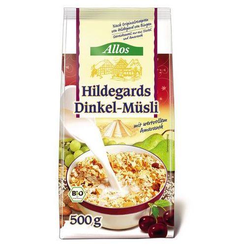 Allos Musli orkiszowe św. hildegardy 500g bio -