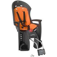 fotelik rowerowy siesta ciemnoszary, pomarań marki Hamax