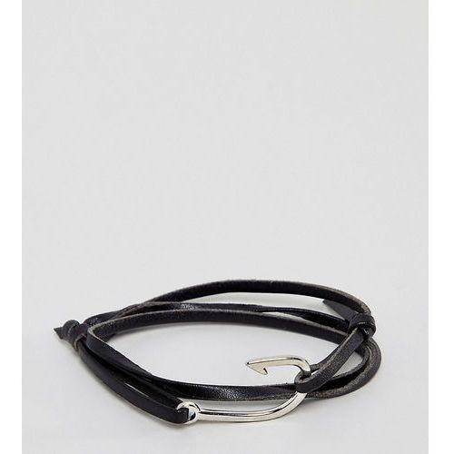 Sacred Hawk wrap bracelet - Black, kolor czarny