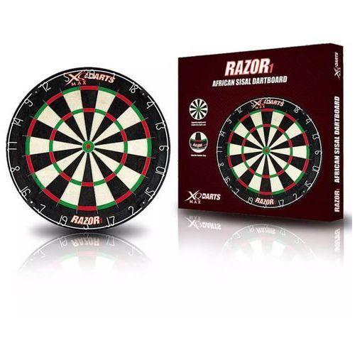 Xqmax darts tarcza do darta razor 1, sizal, 45,5 cm qd6000010 (8719033332867)
