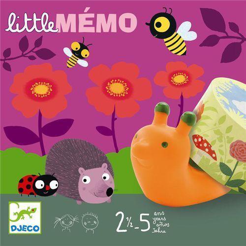 Gra Little Memo Djeco DJ08552, DJ08552