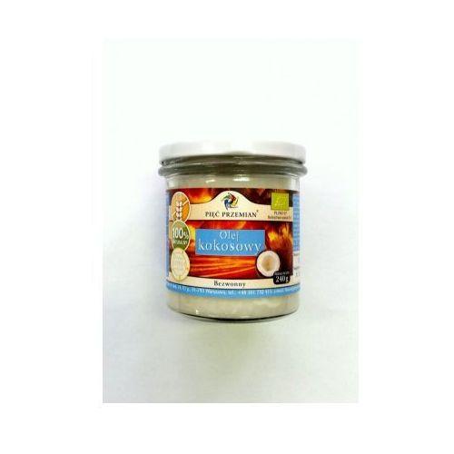 Olej kokosowy bezwonny bio 240 g  marki Pięć przemian
