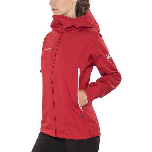 Mammut meron light kurtka kobiety czerwony xs 2018 kurtki przeciwdeszczowe