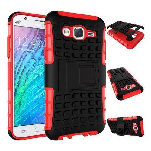 Perfect Armor Czerwona   Pancerna obudowa etui dla Samsung Galaxy J5 - Czerwony - produkt z kategorii- Futerały i pokrowce do telefonów