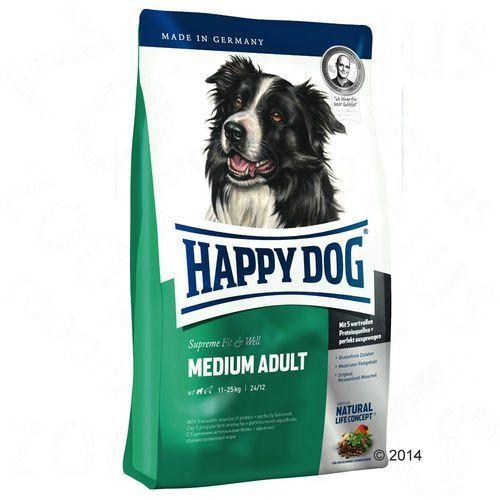 HAPPY DOG Supreme Fit & Well Adult Medium 12,5kg (4001967015614)