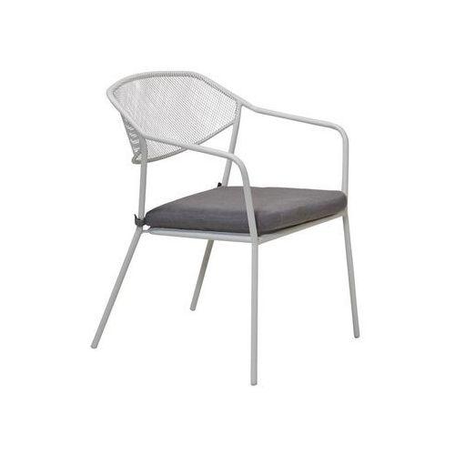 Telehit garden Krzesło ogrodowe bergen stalowe szare