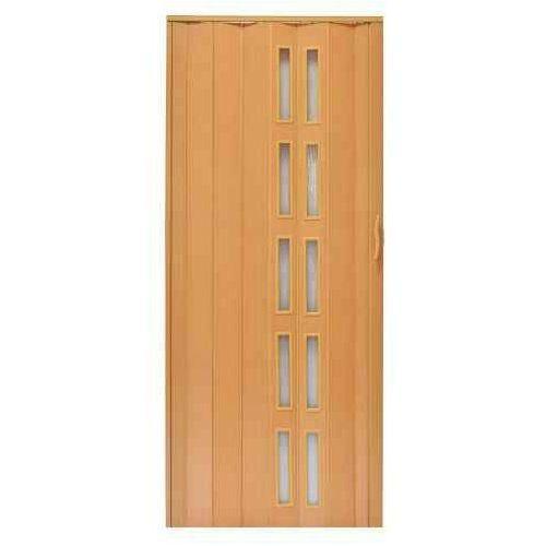 Drzwi Harmonijkowe 005S 8671 Buk Mat 80 cm, GK-0113