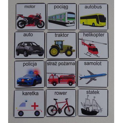 Pojazdy - piktogramy marki Bystra sowa