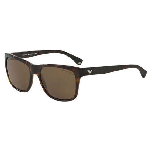 Okulary słoneczne ea4041f asian fit 502673 marki Emporio armani