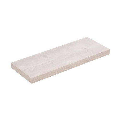 Spaceo Półka ścienna komorowa dąb szary 60 x 23.5 cm