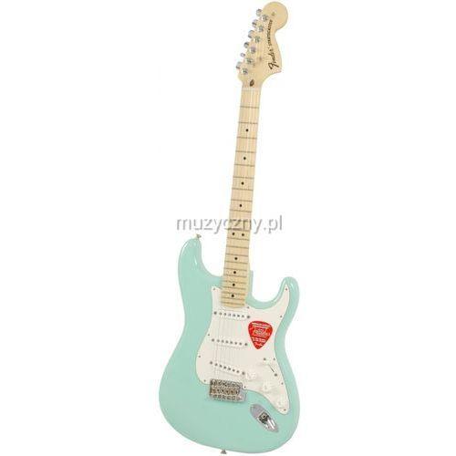Fender  american special stratocaster mn surf green , podstrunnica klonowa