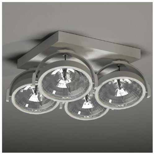 Plafon lampa sufitowa sakura 2237/g53/sz reflektorowa oprawa ruchoma szary marki Shilo