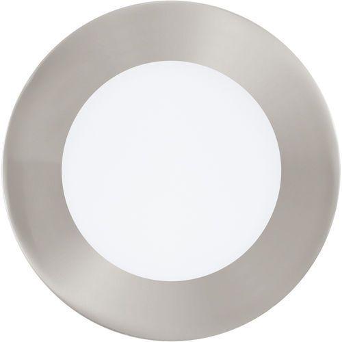 Plafon Eglo Fueva 1 95467 lampa oprawa wpuszczana downlight oczko 1x5,5W LED nikiel mat / biały okr. (9002759954673)
