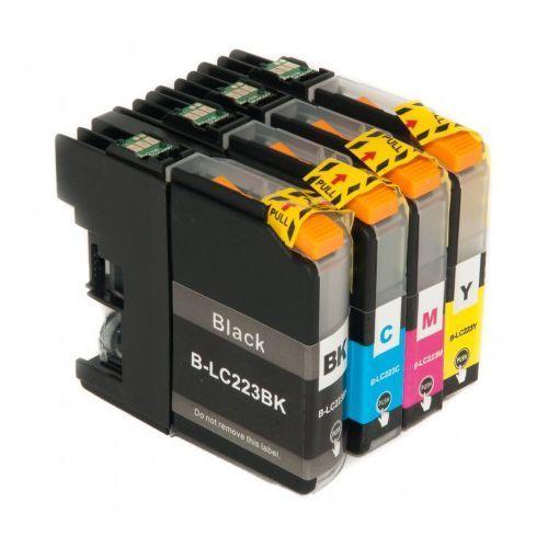 Zestaw tuszów Brother LC225 CMY LC227 BK Zamienniki DCP-J4120DW,MFC-J4420DW MFC-4620DW,MFC-4625DW