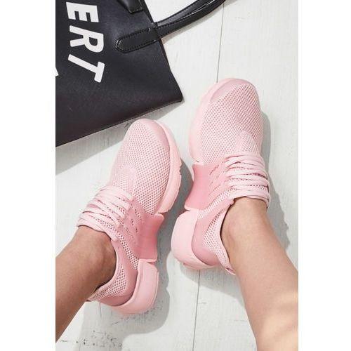 Vices Różowe buty sportowe wafture