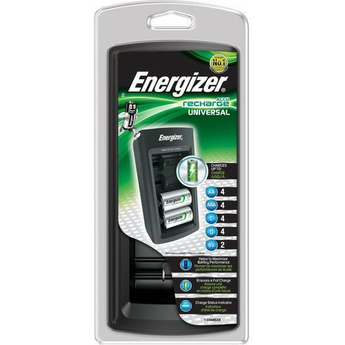 Accu recharge universal ładowarka do akumulatorów marki Energizer