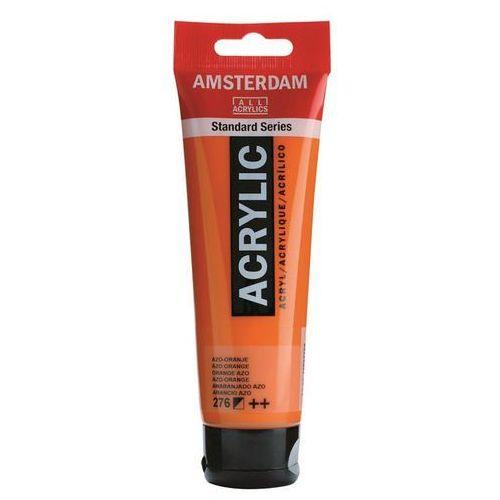 Talens Amsterdam Acryl Farba 276 Azo Orange 120ml, 276