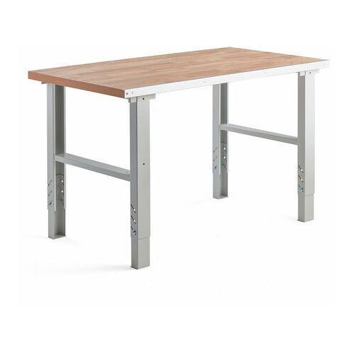 Stół roboczy 500, 800x1500 mm, sklejka dębowa marki Aj produkty