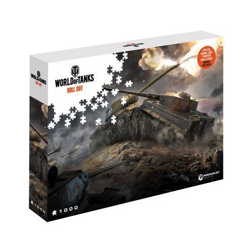 Puzzle world of tanks wschód kontra zachód 1000 elementów. wargaming east v west - merlin publishing marki Cdp.pl software