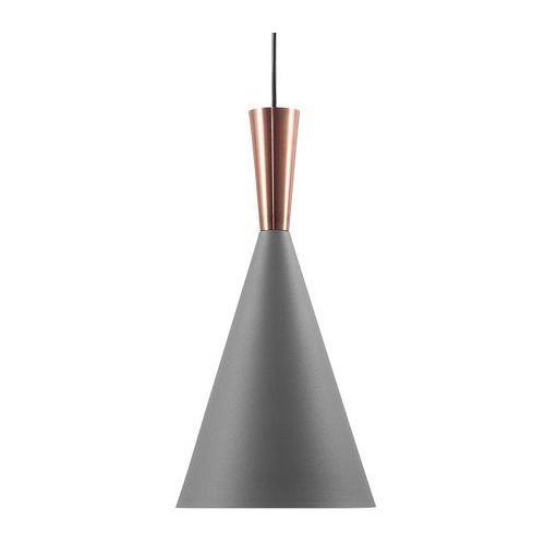 Beliani Lampa wisząca szaro-miedziana tagus (4260586352771)