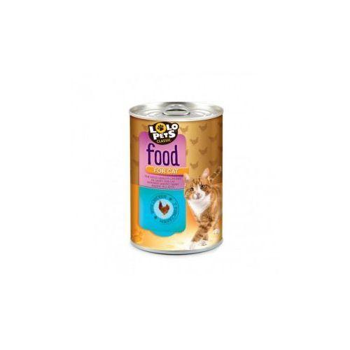 LOLO PETS Food For Mięsne kąski z kurczakiem w sosie dla kota 410g- RÓB ZAKUPY I ZBIERAJ PUNKTY PAYBACK - DARMOWA WYSYŁKA OD 99 ZŁ (5904479480019)
