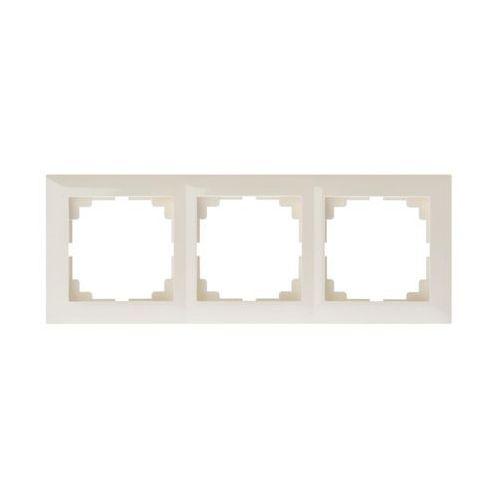 Carla ramka 3x 1773-01 marki Elektro-plast nasielsk