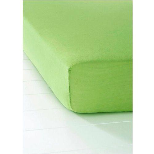 Bonprix Prześcieradło z dżerseju gumką zielony