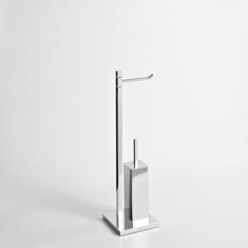 Stojak na papier toaletowy i szczotkę do WC Cipro (8022161062224)
