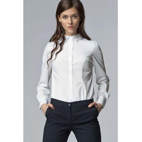 Biała Klasyczna Bawełniana Koszula, w 3 rozmiarach