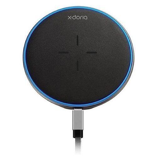 pebble wireless charger - uniwersalna ładowarka bezprzewodowa 10w qi (czarny) marki X-doria