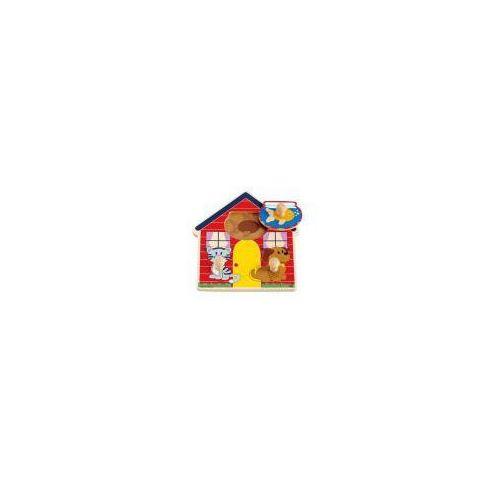 Puzzle - domek zwierząt marki Hape
