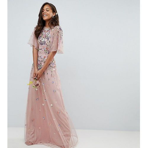 b59829dff7 ASOS DESIGN Tall floral embroidered dobb.